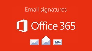 New Exclaimer Cloud - Signatures for Office365