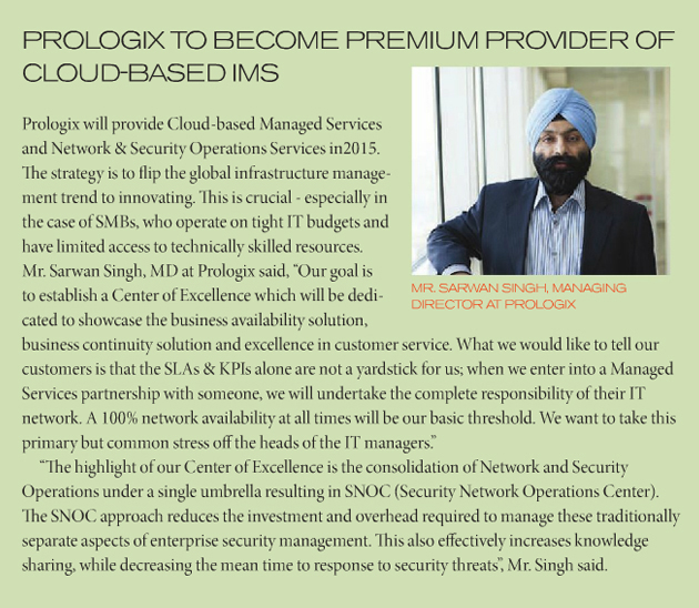 Prologix to Become Premium Provider of Cloud Based IMS