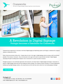 A Revolution in Digital Signage