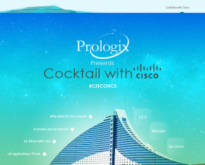 COCKTAIL WITH CISCO