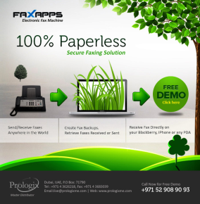 100% Paperless, Secure Faxing Solution