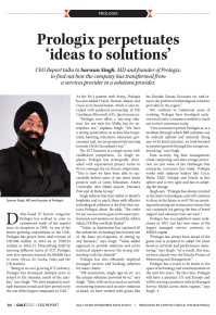 Prologix perpetuates ideas to solutions