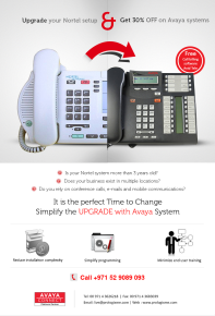 Simplify your Nortel to Avaya Upgrade