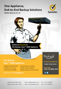 Symantec Backup Exec 3600 Appliance