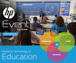 Trending Technology in Education, an Event with HP